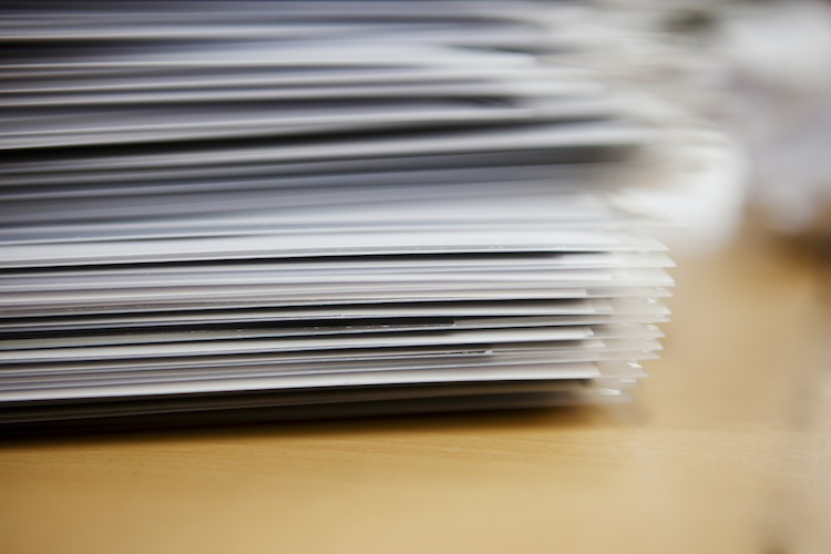 AF&PA Reports Decrease In Printing-Writing Paper Shipments