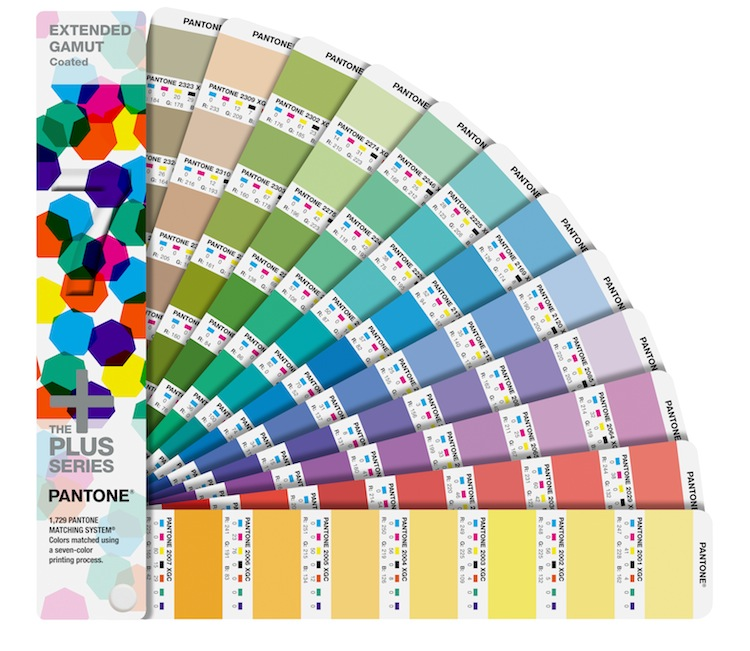 Pantone Releases New Extended Gamut Guide