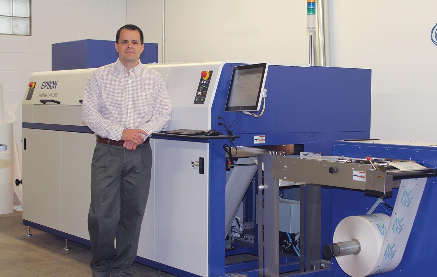 Beiler Printing Selects Epson SurePress Digital Label Press to Deliver Custom Labels