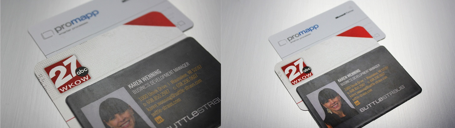 Business cards 5 ways to go beyond the basics change up the canvas a business card colourmoves