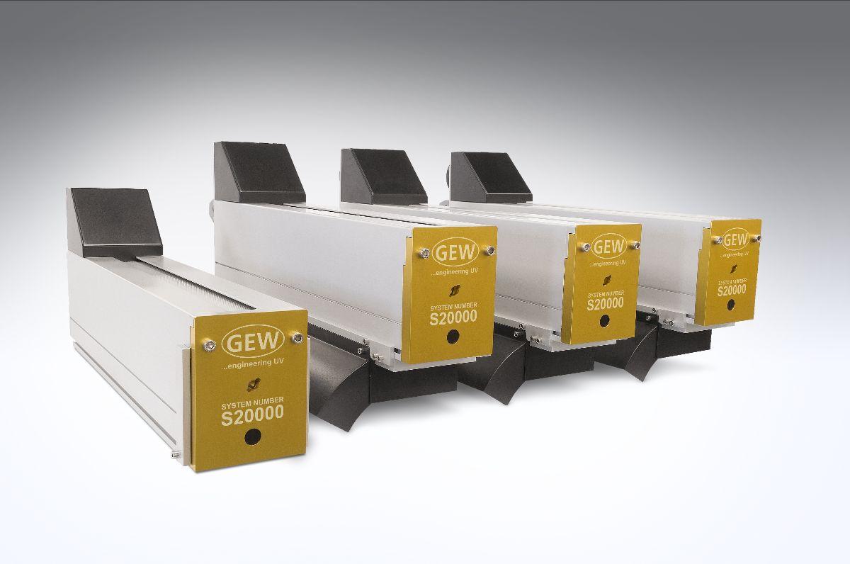 GEW Announces 20,000 UV Curing Systems Installations Milestone